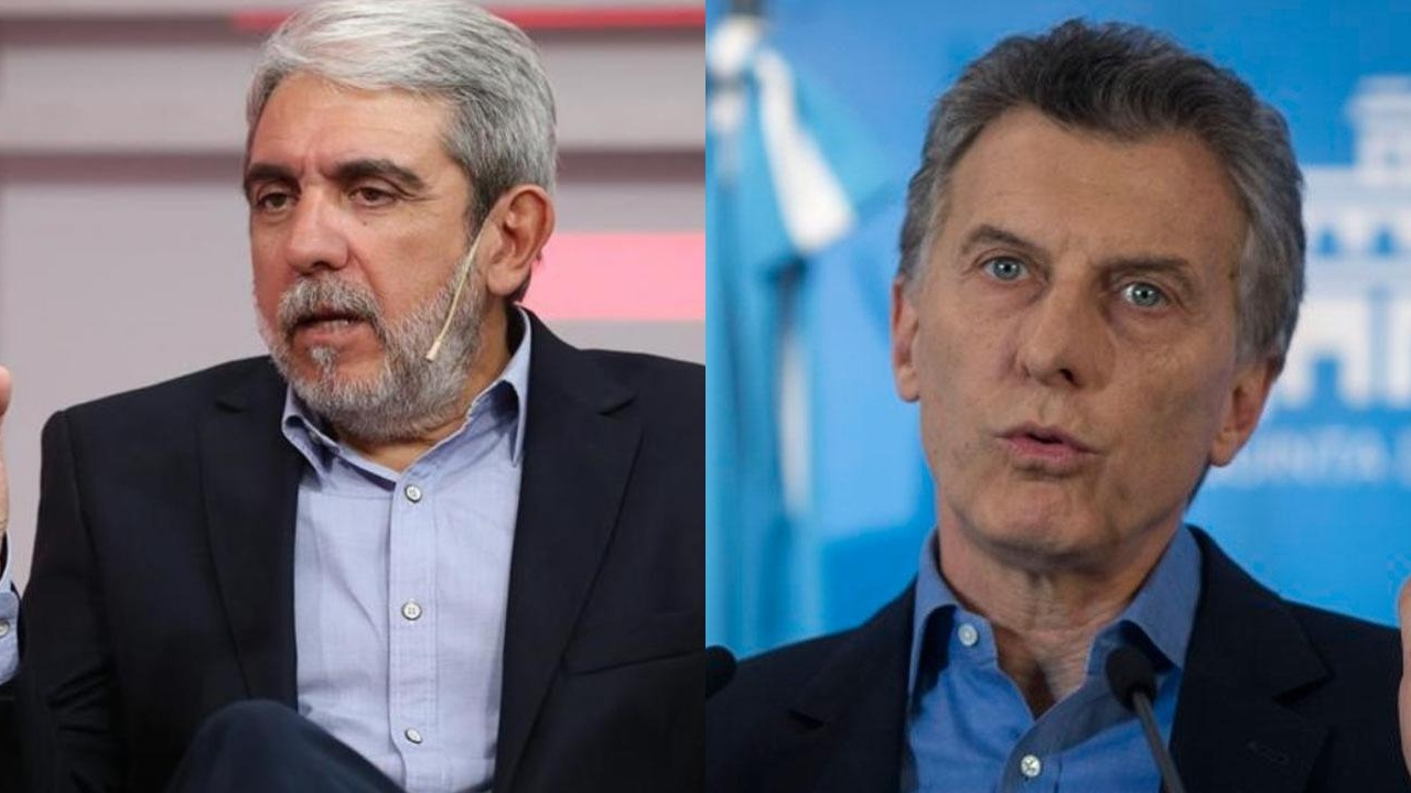 Aníbal Fernández contra Mauricio Macri