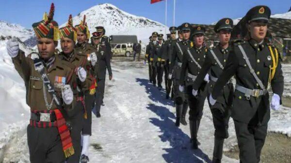 China contra India