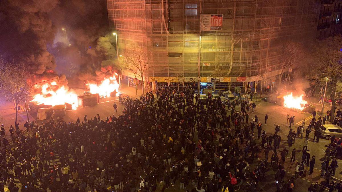 Incidentes en España
