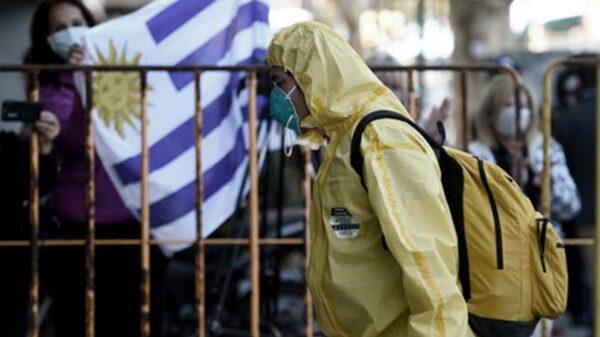 Uruguay registró 2.700 casos de coronavirus, un nuevo récord