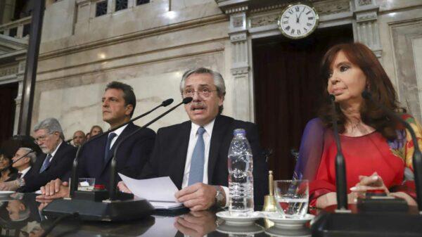 El campo cargó contra Alberto Fernández