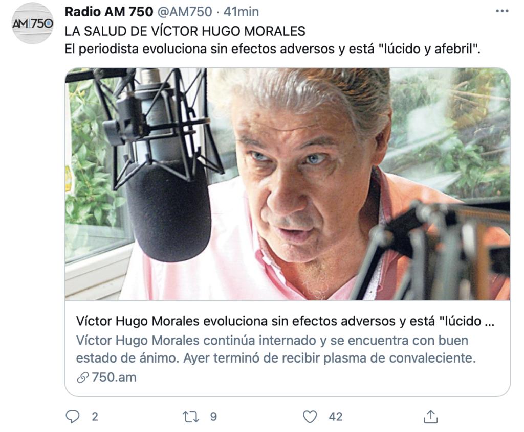 Víctor Hugo Morales