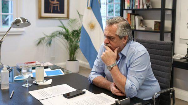 Alberto Fernández le dio like a una polémica publicación