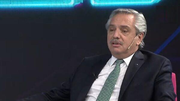 Alberto Fernández habló sobre el cruce con Luis Lacalle Pou