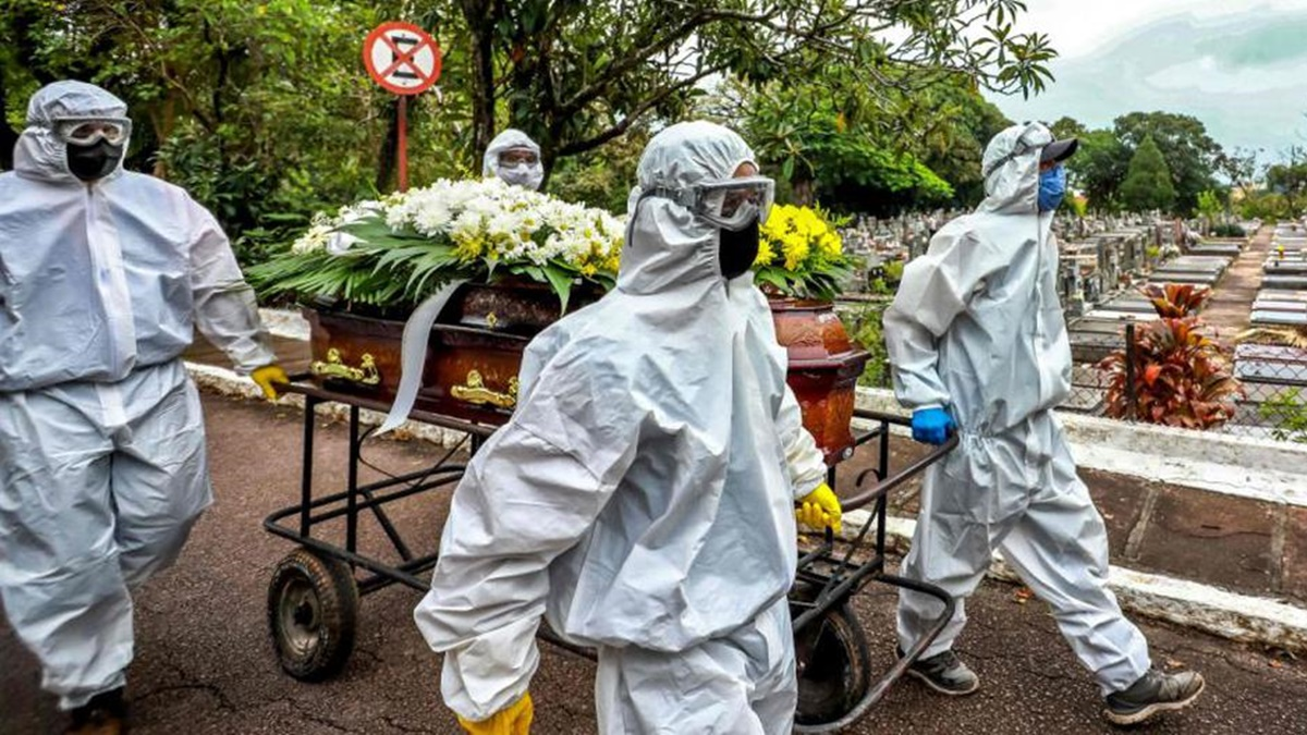 Nuevo record de muertes por coronavirus en Brasil