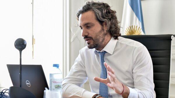 Santiago Cafiero destacó que su fuerza política está enfocada en quienes trabajan y producen y no en los que especulan