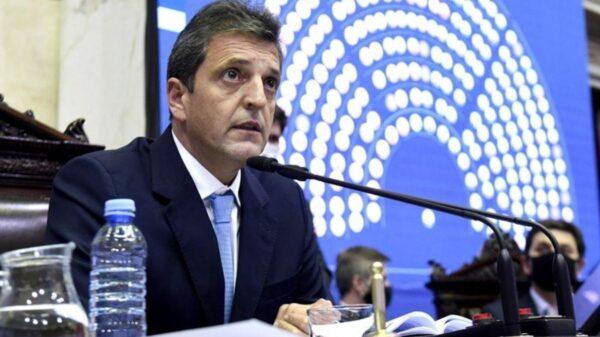 Sergio Massa dijo que la Argentina necesita una deuda pagable con el FMI