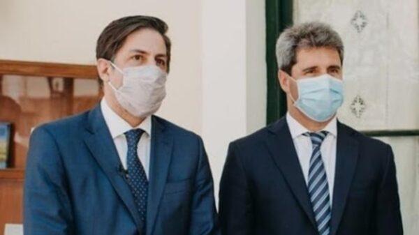 El ministro de Educación, Nicolás Trotta, firmó un acuerdo con Sergio Uñac, gobernador de San Juan
