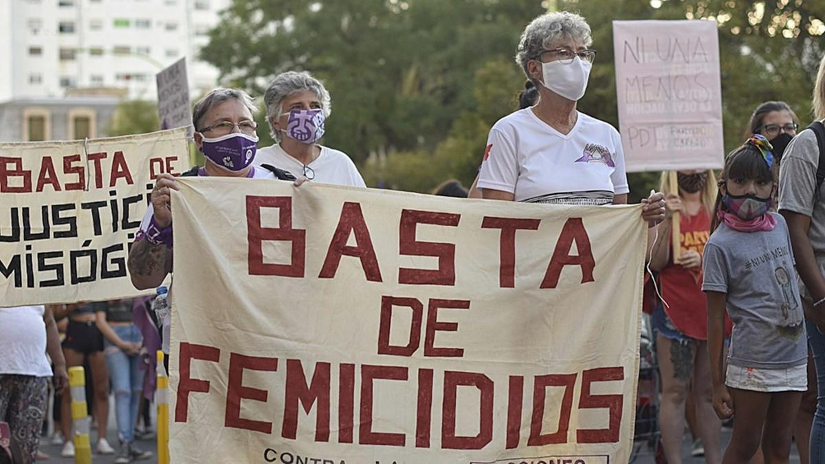 70 femicidios se produjeron en la Argentina en el primer trimestre de 2021