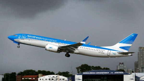 Aerolíneas Argentinas a China