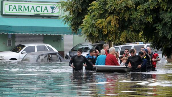 Inundación La Plata