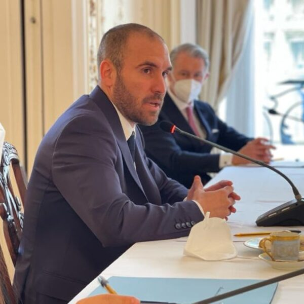 Martín Guzmán se reunió con representantes de empresas francesas con inversiones en la Argentina