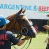 La carne argentina es promocionada en el Abierto de Polo de Estados Unidos