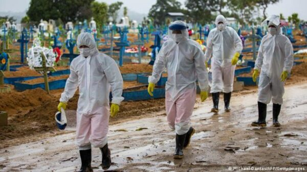 Brasil volvió a romper el récord de muertes por coronavirus: se registraron 4.249