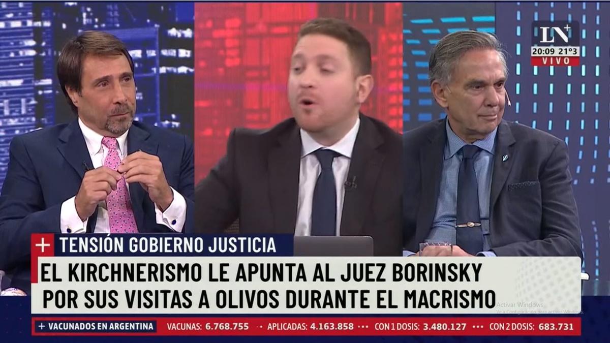 """Miguel Pichetto, Eduardo Feimann y Jonathan Viale coincidieron en que """"quieren salvar a Cristina de cualquier manera"""""""