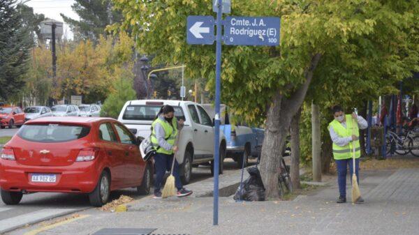 El una ciudad de Mendoza, todos aquellos que perciban un plan social deberán retribuir con limpiezas públicas