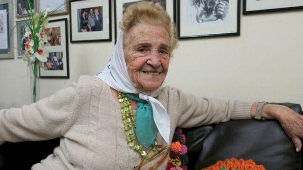 Murió la vicepresidenta de Asociación Madres de Plaza de Mayo