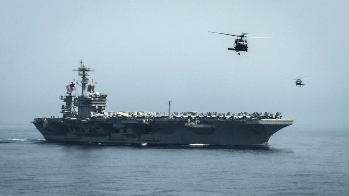 China y Estados Unidos envían portaaviones a zonas en conflicto