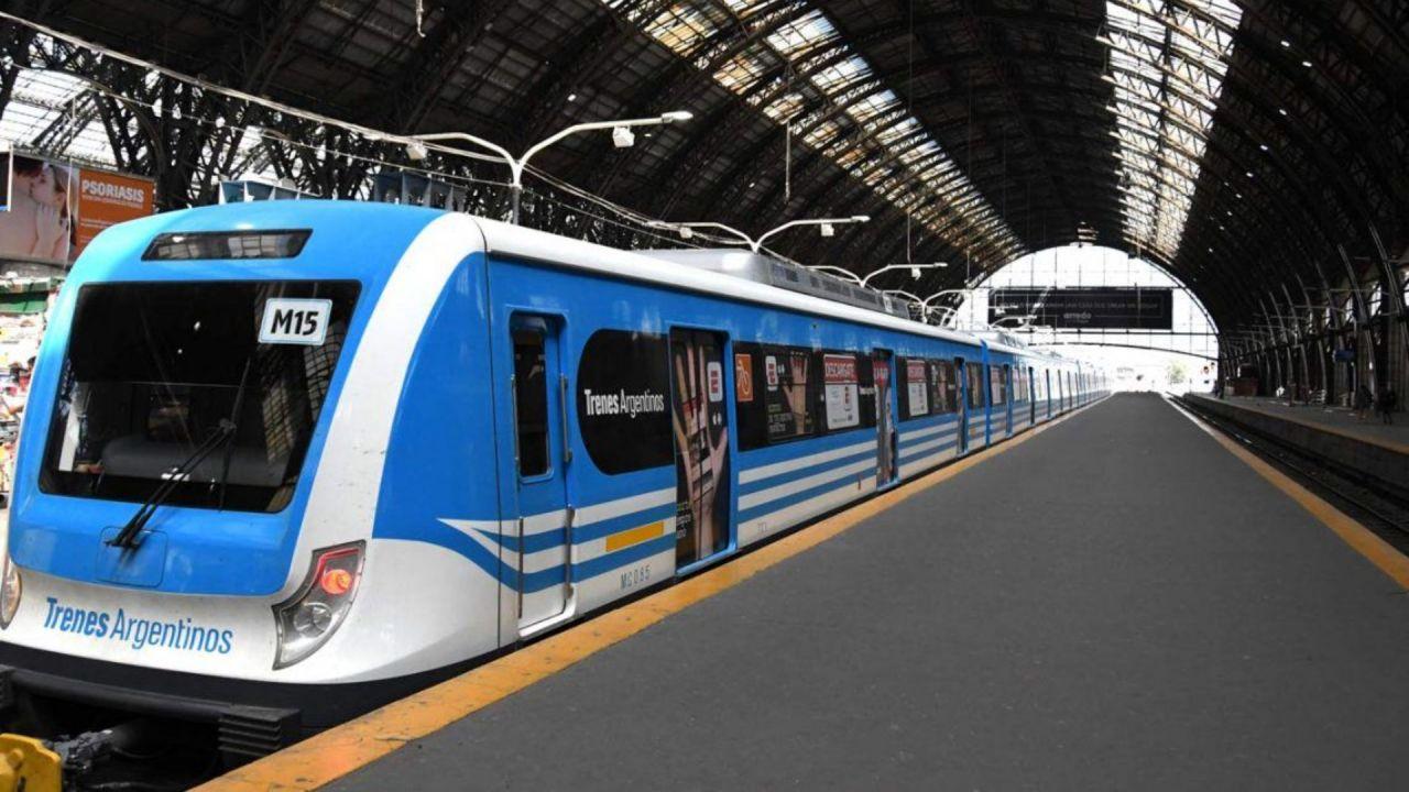 línea de Trenes San Martín