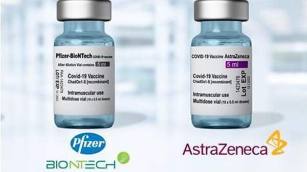 Vacuna AstraZeneca Pfizer