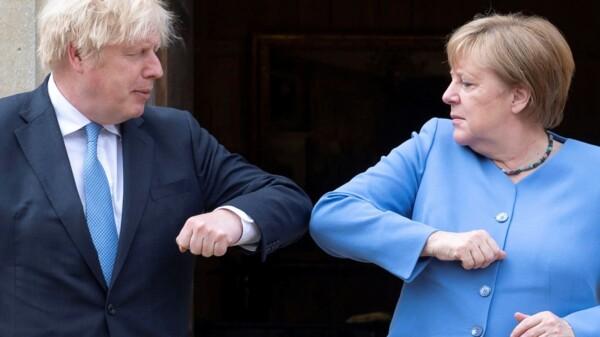 Boris Johnson - Angela Merkel