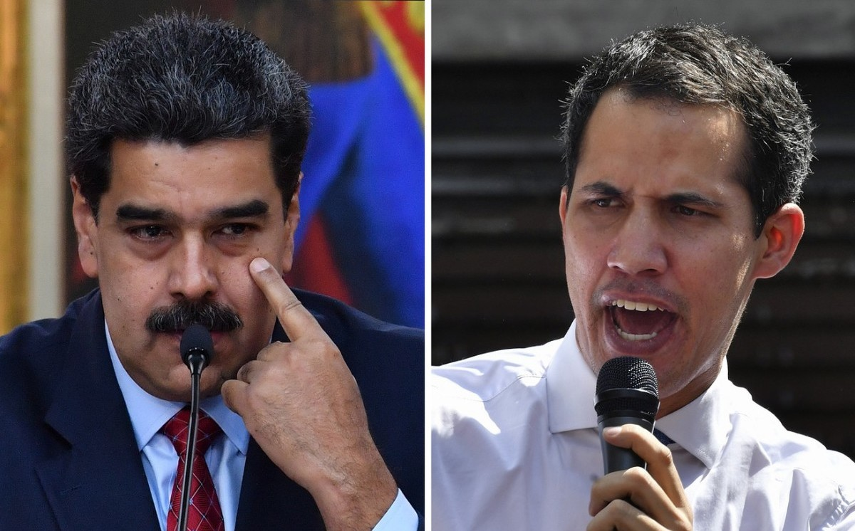 Nicolás Maduro - Juan Guaidó