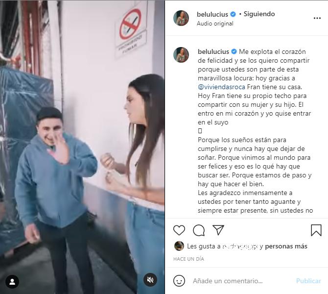 """Se la conseguimos!"""": Una influencer le cumplió el sueño a Francisco Benítez  ESPECTÁCULO El Intransigente"""