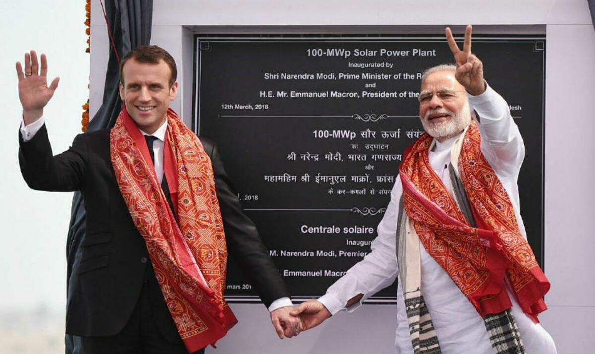 Francia - India