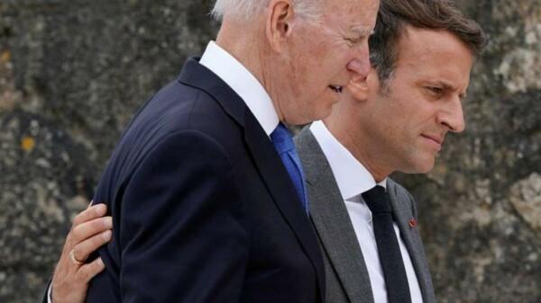 Joe Biden - Emmanuel Macron