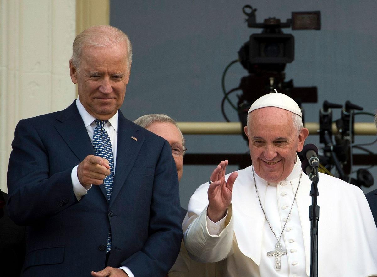 Joe Biden - Papa Francisco