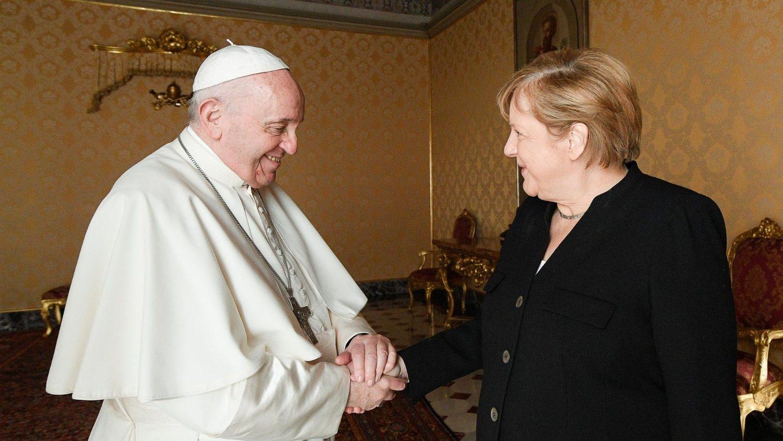 Papa Francisco - Angela Merkel