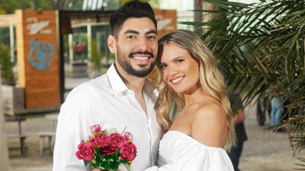 Eva Bargiela y Facundo Moyano