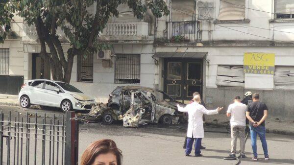 Explosión en Recoleta